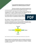 El Mapa de Procesos Como Elemento Fundamental Para Una Empresa Que Desea Adaptarse Rápidamente a Los Camb