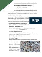 Plan de Seguridad e Higiene Industrial en La