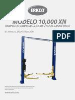 MANUAL 10000 XN Elevador