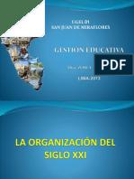 la organizacion gerencias educ