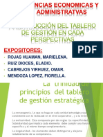 TABLERO DE GESTIÓN  ESTRATÉGICO