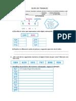 Guía de Comparación de Números 3_ Básico