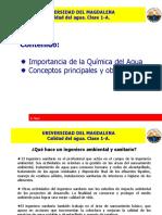Clase 1-A. Quimica Del Agua.
