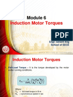 Induction Motor Torques