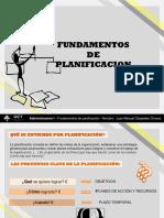 Administracion i ----Fundamentos de Planificacion- Manuel Cespedes