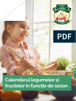 Calendarul fructrlor si legumelor de sezon