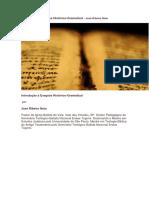 Introdução à Exegese Histórico-Gramatical - José Ribeiro Neto