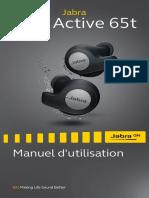 Jabra Elite Active 65t User Manual_FR_French_RevH