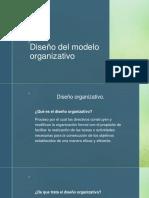 Diseño Del Modelo Organizativo