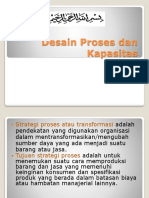 Bab 7 Desain Proses Dan Kapasitas