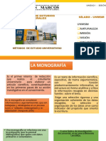 Semana 10 La Monografía