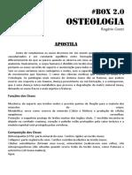 Apostila - Osteologia
