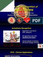 Approach to Acls Rhythms Sc