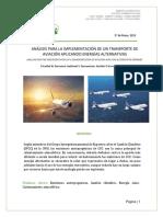 Alternativa de Transporte Aviación