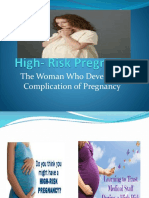 High - Risk Pregnancy