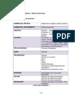 Manual de procesos y diagramas de flujo en una empresa