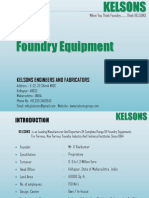 kelsons foundry equipment