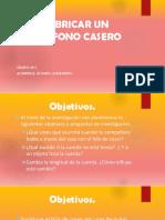 FABRICAR TELEFONO CASERO