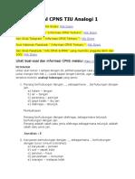 Soal CPNS TIU Analogi 1 mautidur.com.pdf