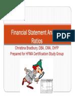 FS Analysis Presentation for HFMA