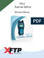 TR-3 Channel Editor Manual