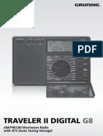Grundig G8 Manual