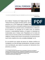 Trabajo Social Forense y El Enfoque Transversal de Los Derechos Humanos