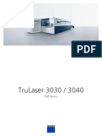 TRUMPF Technical Data Sheet TruLaser 3030 3040