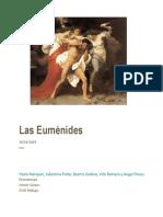 Análisis Las Euménides