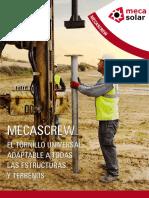 Universal Screw Mecascrew Mecasolar Catalog