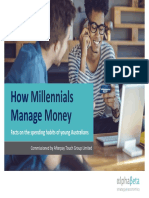 How Millennials Manage Money