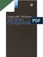 George Lakoff, Mark Johnson - Metafora e Vita Quotidiana
