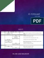 F5 TCPDUMP