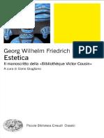 Georg Wilhelm Friedrich Hegel - Estetica.