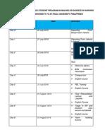RUNDOWN FOR EXCHANGE STUDENT PROGRAM IN BACHELOR S.docx