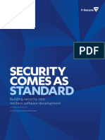 f Secure Security Comes as Standard Whitepaper