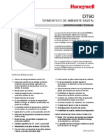 Honeywell Termostato Ambiente Digital Dt90