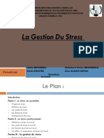 Diapositif Gestion Du Stress