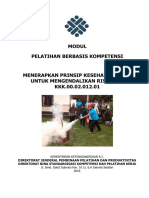 Modul Menerapkan Prinsip Kesehatan Kerja Untuk Mengendalikan Risiko K3.pdf