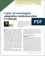 Adaptation Cardiaque en Altitude