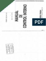 Manual de control interno - Oscar Rusemas