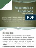 Recal Ques Fund Superficiai s 2016