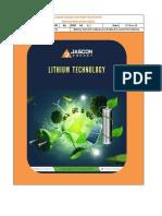 JE Technical Datasheet 48V 80Ah