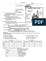 Worksheet on Present Perfect Tense