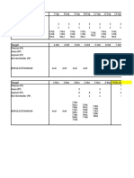 Contoh Rincian Perhitungan BBM