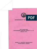 Nagaland Engineering Service Rules 2012