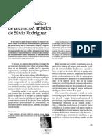 Estudio pragmático de la creación artística de Silvio Rodríguez