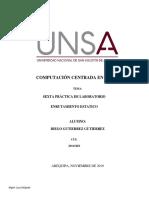 Practica Enrutamiento Estatico  2019