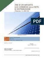 Progetto fotovoltaico