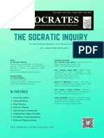 The Socratic Inquiry Newsletter Vol 1 Issue 5 (2019)